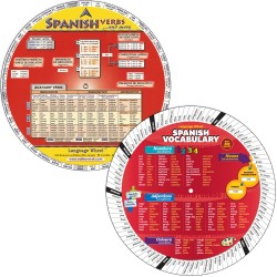 SPANISH COMBO: Verbs Wheel...